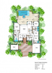 Sanibel Spec Floor Plan